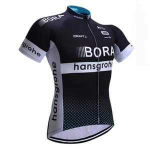 Wholesale 2019 BORA team custom made Cycling Short Sleeves Summer men s outdoor breathable sports mountain bike sports Jersey