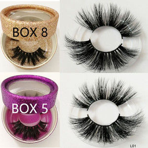 Wholesale 25MM long hair Eyelashes d Mink eyelashes D Mink mm long lashes product Private label custom boxes for order