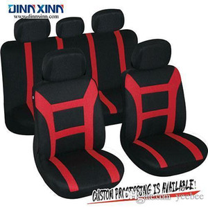 DinnXinn 111023F9 Buick 9 pcs full set Jacquard car seat covers pu leather factory from China on Sale