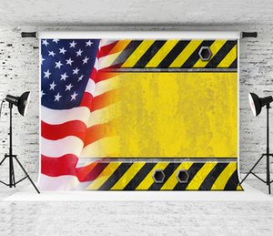 Dream 7x5ft Labor Day Sign Photography Background American Flag Decor Photo Backdrop for Celebrating Workers Party Shoot Studio Prop