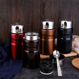 Wholesale Stainless Steel Magic Beaker Preserve Heat Lunch Box Stainless Steel Vacuum Stew Pot Smoldering Tank Insulation Cup