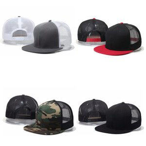 Wholesale Fashion Truck Hats Mesh Men Women Blank Plain Designers Dad Baseball Cap Driver Sport Snapback Caps Camo Casual Trucker Hat Online