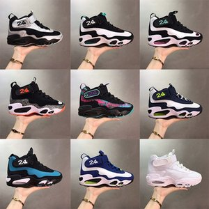 Wholesale new kicks for sale - Group buy New th th Anniversary Returning Griffey Sneakers Ken Jrs Freshwater Ken Jrs Baseball Kicks Navy InductKid White Varsity Royal