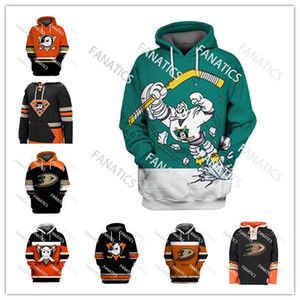 Mens Womesn Youth Custom Mighty Ducks Pullovers ANAHEIM DUCKS Vintage Hockey Hoodies Sweatshirts 15 Ryan Getzlaf on Sale