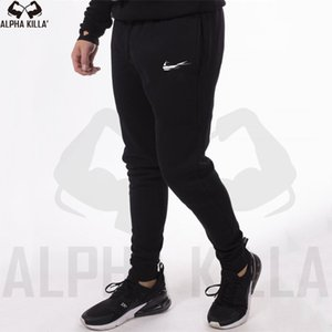 Wholesale New Men Joggers Brand Male Trousers fashion Casual Pants Sweatpants Men Gym Muscle Cotton Fitness Workout hip hop Elastic Pants