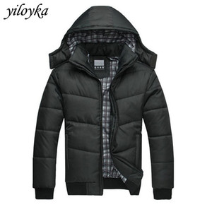 Wholesale New Winter Jacket Men Clothes Casual Hooded Collar Fashion Thick Winter Coat Men Parka Hombre Outerwear Warm Snow Parkas