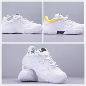 2019 new lovers COURT LITE 2HARD COURT Tennis Shoes Mens white Sneakers high quality womens designer trainers Sports Chaussures on Sale