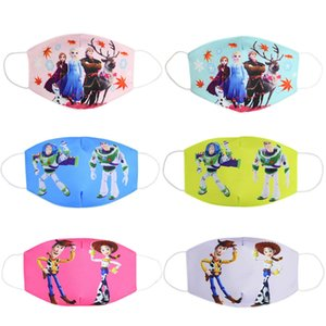 Wholesale Anti Dust Face Mouth Mask Reusable Breathable Cotton Protective Children Kid Toy Cartoon Cute Pm2 Anti dust Mouth Face Mask