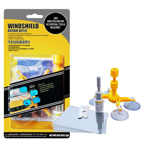 DIY Car Windshield Repair Kit Auto Cracked Glass Windscreen Repair Set Quick Fix Wind Screen Glass Scratch Polishing Tool