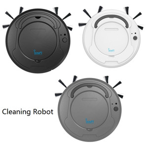 Wholesale Intelligent Cleaning Robot Home Office Robot Vacuum Cleaner Rechargeable Auto Sweeping Dirt Dust Smart Mop Floor Corners Dust Cleaner