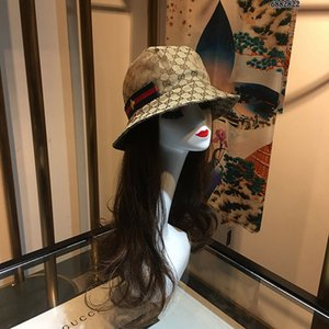 Stingy Brim Hats Fashion Fisherman Leisure Bucket Hats Letter Embroidery Men Women Travel Top Wide Brim Summer Outdoor Designer Hats