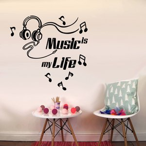 Wholesale Colorful Inspirational English Text Creative Wall Stickers D Art Decal Sticker Child Room Nursery Wall Decoration H0524
