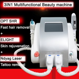 OPT SHR Laser Beauty Equipment IPL Elight Hair Removal Acne Treatment ND YAG Laser Tattoo Removal ipl Beauty Machine