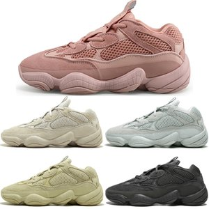 Wholesale Hot Kanye West Desert Rat Blush s Salt Super Moon Yellow M Utility Black mens running shoes for men women sports sneakers trainers