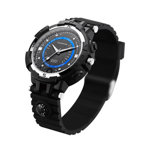 Wholesale FOX8S Life Waterproof Compass Video Wristwatch Outdoor Sports Smart WiFi Watch Camera Compatible with Android IOS