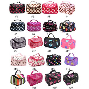Wholesale Zipper Man Women Makeup bag Cosmetic bag beauty Case Make Up Organizer Toiletry bag kits Storage Travel Wash pouch Retail