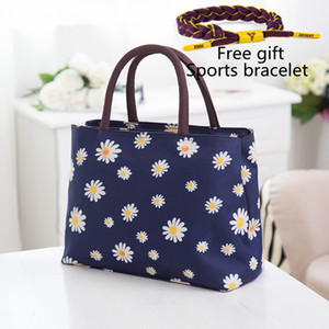 2019 new Designer Tide brand canvas Female handbag lunch box Lady bags Ms Shoulder Bags Cloth bag on Sale