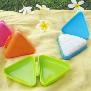 Wholesale Triangle Sushi Mold New Original Rice Ball Nice Press Maker Kitchen Tool Easy to carry LX7862