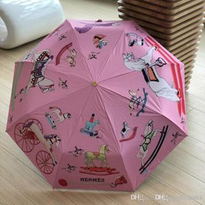 Wine Bottle Umbrella Travel Fashion Wine Bottle Folding Sun & Rain Umbrella Windproof Sun Shade Umbrella 4 design 69 DZX