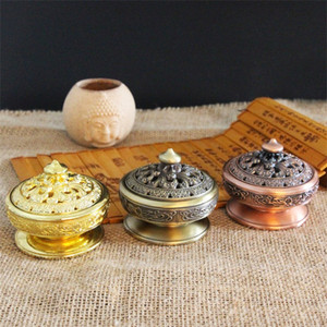 Wholesale Home Crafts Smart Incensory Artifact Incense Burner Kirsite Censer Tea Ceremony Bedroom Study Decorate 12yb k1