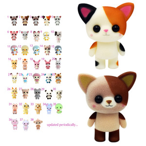 Fuzzy Pets with Washable Fuzz & Water Surprises Fuzzy Animals Zoo 6CM Newest Fuzzy Pet Doll Soft fluff On Doll Toys lol