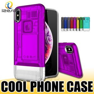 Wholesale For iPhone XR XS MAX X Phone Case Cool Design Hybrid Cellphone Cover Shell for Samsung Note Huawei P20 Lite Y9