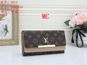 Wholesale leather wallet for women multicolor designer short wallet Card holder women purse classic zipper pocket Victorine