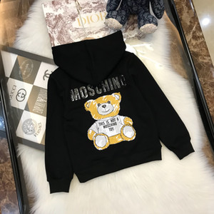 Wholesale Sales latest designer children s clothing Popular top brands High quality cotton Kids Hoodies Sweatshirts Boy and girl Free shipp