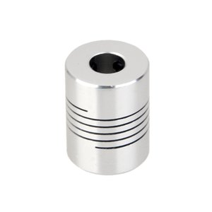 Wholesale shaft motor flexible coupling coupler resale online - Generic Flexible Coupler Coupling mm to mm for CNC D Printer Z Axis Stepper Motor RepRap Shaft