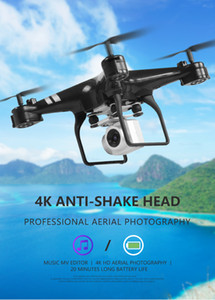 Wholesale Drone k camera HD Wifi transmission fpv drone air pressure fixed height four axis aircraft rc helicopter drone with camera