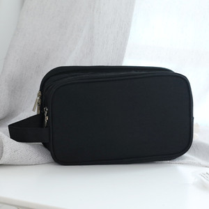 Wholesale makeup bags compartments resale online - Dry Wet Separated Shaving Organizer Travel Toiletry Wash Zipper Bag Layers Compartments Pockets Storage Makeup Cosmetics Bags