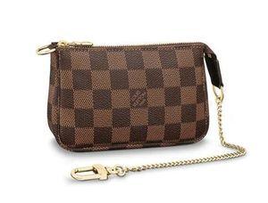 Mini Pochette Accessoires N58009 New Women Fashion Shows Shoulder Bags Totes Handbags Top Handles Cross Body Messenger Bags