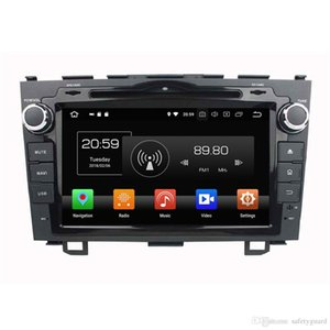 Wholesale IPS Android Octa Core din quot Car DVD GPS for Honda CR V CRV Radio Bluetooth WIFI GB RAM GB ROM