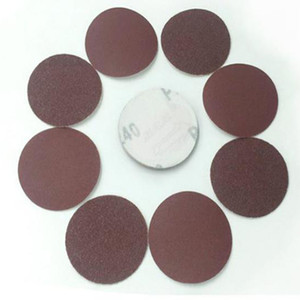 Wholesale WHISM 3 Inches Sanding Paper Aluminum Oxide Polishing Pad Grinding Disc Sandpaper Polisher Mat 40-2000 Grit Abrasive for Sander