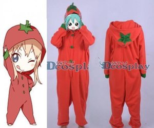 YuruYuri Kyoko Toshino Tomato Red Sleepwear Nightclothes Cosplay Costume
