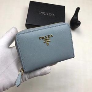 2020 Men's Long Wallet Designer Women's Square Wallet Women's Short Wallet Card Holder with Gift Box