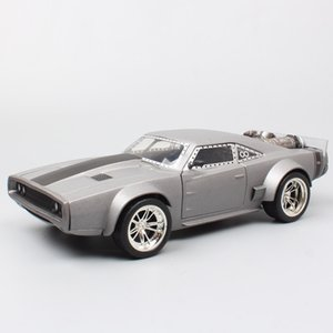 Wholesale 1 Jada classic dom s Dodge Charger ice f8 movie miniatures Diecasts Toy Vehicles metal cars models scale toys for