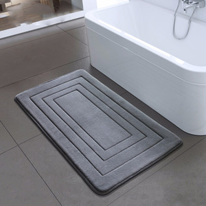 High Quality Bath Mat Bathroom Bedroom Non-slip Mats Foam Rug Shower Carpet for Bathroom Kitchen Bedroom 40x60cm 50x80cm