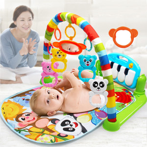 Wholesale baby playing mats for sale - Group buy Baby Play Mat Kids Rug Educational Puzzle Carpet With Piano Keyboard And Cute Animal Playmat Baby Gym Crawling Activity Mat Toys Re