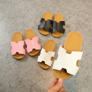 Children's Sandals Slippers Summer Boy's Casual Children's Beach Sippers Shoes Breatheable Comfortable Leather Sandals Children's Shoes on Sale