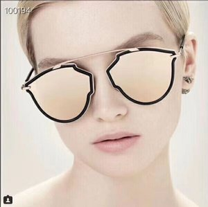 Wholesale Sale New Top Quality Women Sunglasses Rise Antireflection Brand Sunglasses Fashion Oculos Butterfly Retro UV400 Mirror Wrap Sunglasses