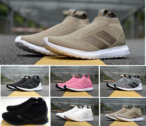 Hot sale ACE 16 + PureControl UB Beckham Uncaged Socks Running Shoes Top quality for Men Women Sneakers boost 36-45 on Sale
