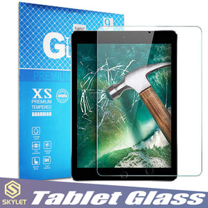 Wholesale Tablet Glass For iPad Mini Air Air iPad Pro Screen Protector Film Explosion Proof for Samsung Tablet Glass with Retail Box