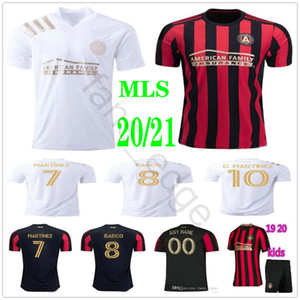 Wholesale custom kids shirts for sale - Group buy 2020 MLS Atlanta United Soccer Jerseys G MARTINEZ BARCO VILLALBA ALMIRON Custom Atlanta FC Home Away Adult Kids Football Shirt