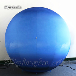 Wholesale solar system models for sale - Group buy Lighting Inflatable Uranus Planet Simulated Solar System LED Planet Model Balloon For Concert Stage And Museum Decoration