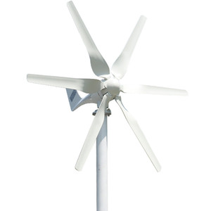 Wholesale turbine 48v resale online - 2020 New Arrival Blades Free Energy Wind Turbine Generator w v HighEfficient For Home Yacht Farm Low Wind Speed Start