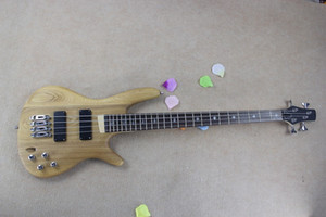 New 4 strings Original body Electric Bass Guitar with Chrome hardware,2 pickups,Rosewood fingerboard,offer customize