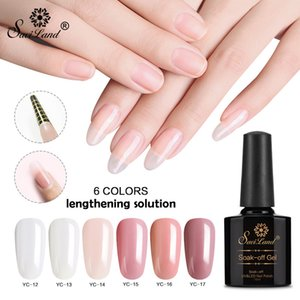 Wholesale New product nails universal light fast extension liquid gel gel painless long-lasting removable glue long colored nails
