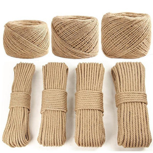 Wholesale climbing ropes resale online - Sisal Rope Cat Tree DIY Scratching Post Toy Cat Climbing Frame Replacement Rope Desk Legs Binding Rope for Cat Sharpen Claw Accessories