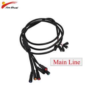 Wholesale electric wire accessories resale online - Waterproof Main Line Electric ScooterTotal Length mm Main Line Cable Wire Adult E Scooter Accessories Escooter Parts